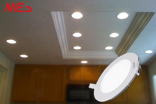 Đèn LED âm trần sự lựa chọn hoàn hảo cho trần thạch cao