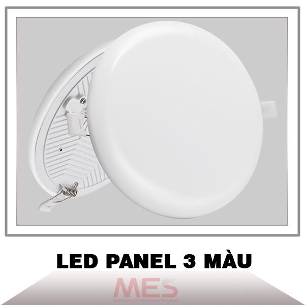 Đèn led panel âm trần 3 chế độ màu không viền