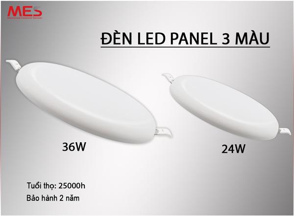 Báo giá đèn led panel âm trần 3 chế độ màu