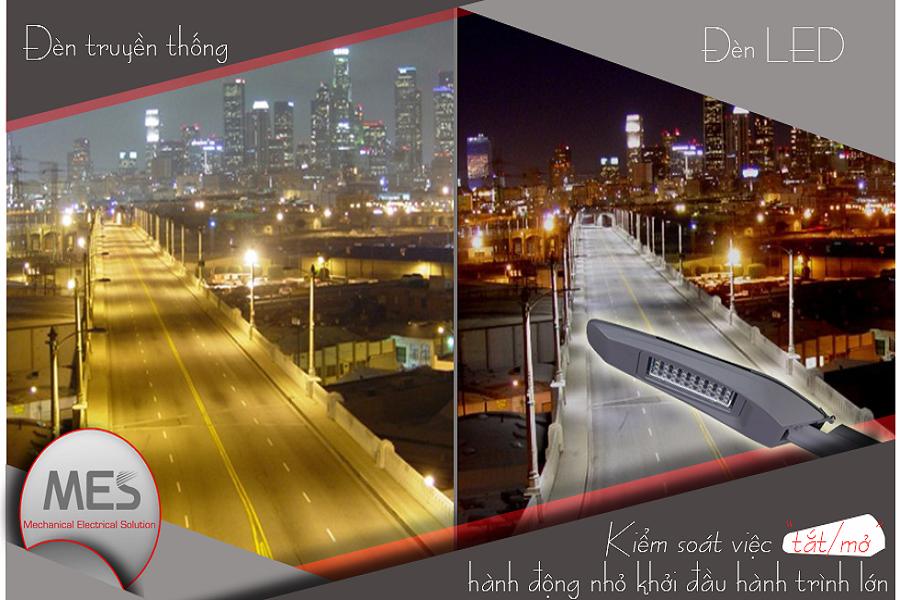 Những thông tin chi tiết về đèn đường LED