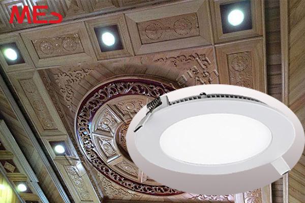Đèn led âm trần loại nào phù hợp cho trần gỗ?