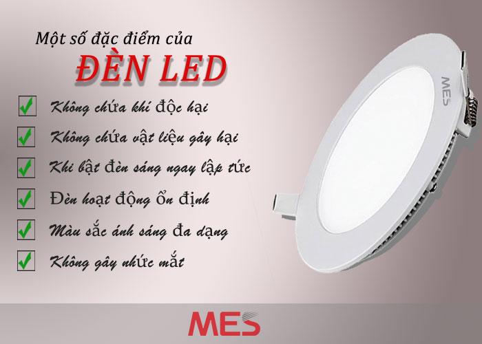 Những đặc điểm chỉ có ở Bóng  Đèn LED