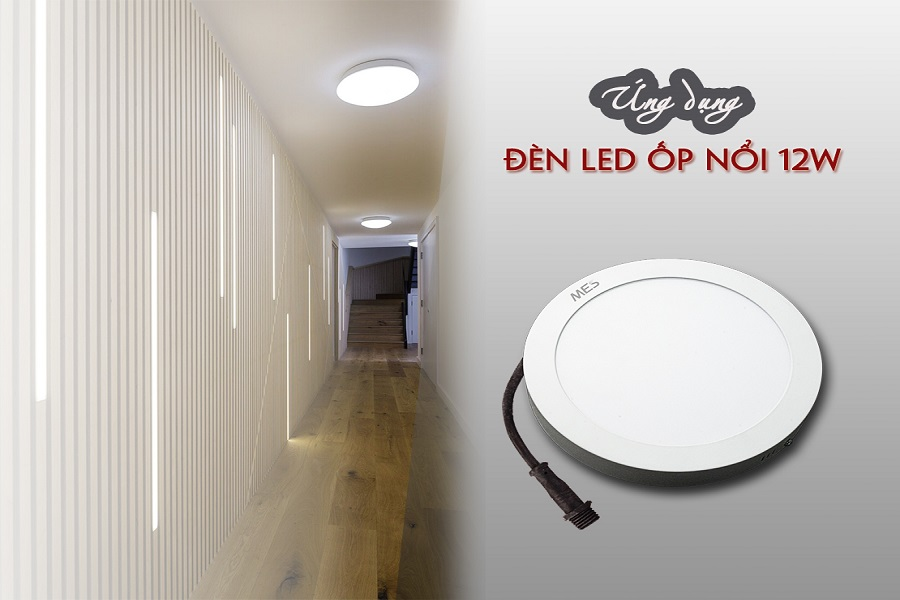 Đèn LED Panel ốp nổi 12W