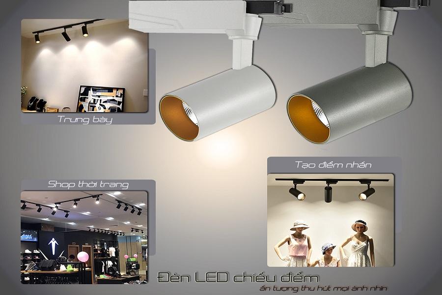 Đèn LED chiếu điểm và những ứng dụng