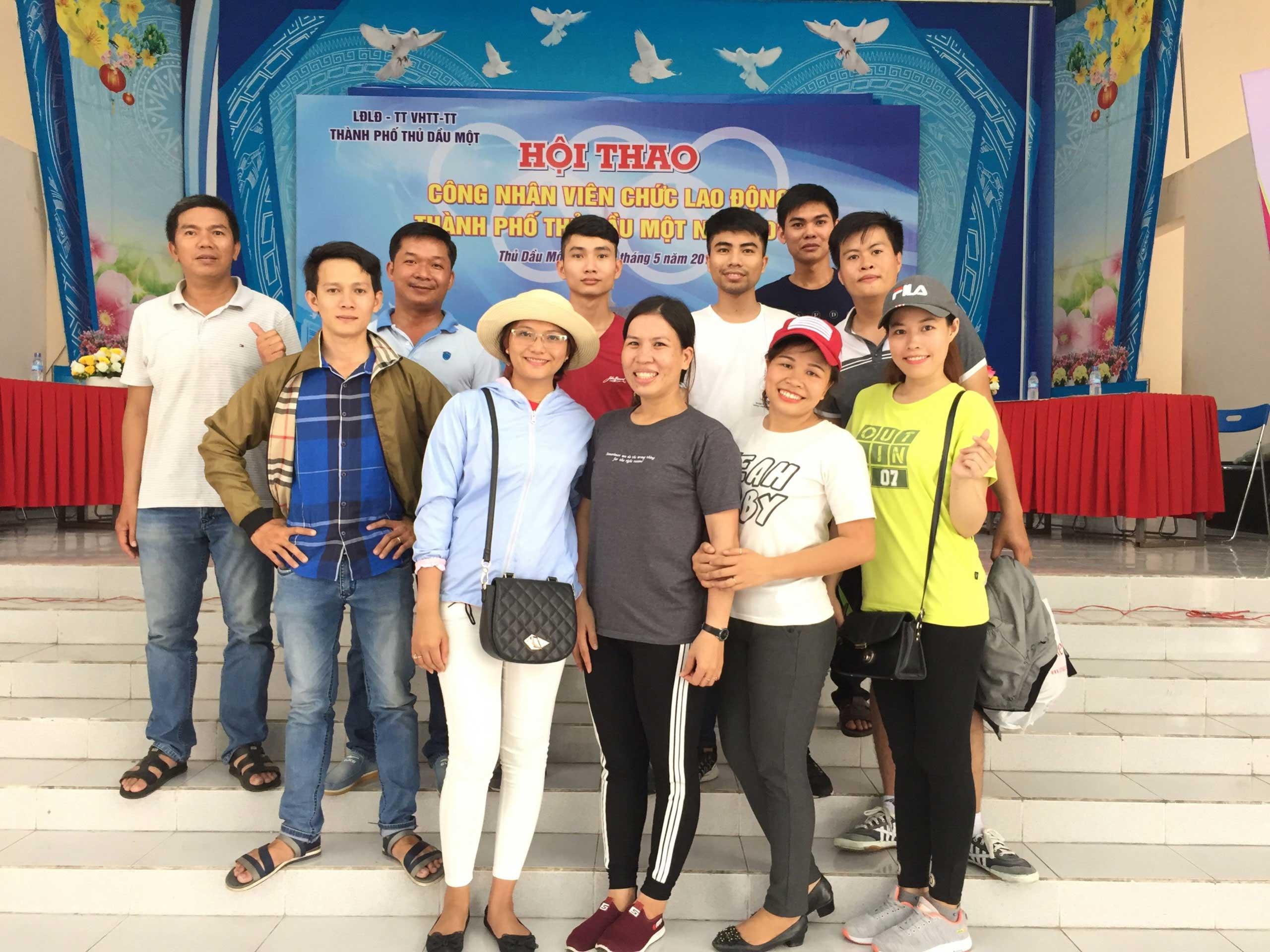 Hội thao CNVC- người lao động TP Thủ Dầu Một 2018