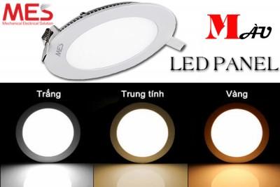 Đèn led âm trần có mấy màu?