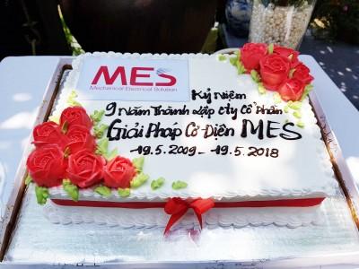 MES mừng sinh nhật 9 năm thành lập công ty