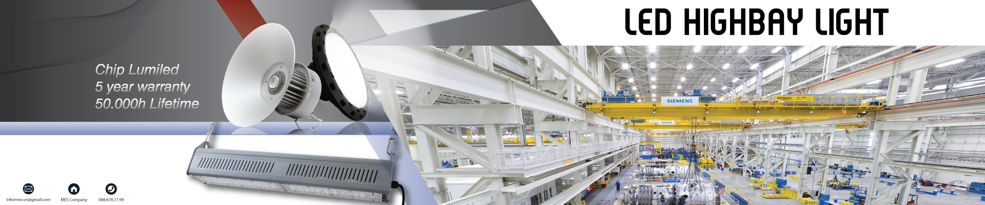 LED HIGHBAY LINEAR MHL674 200W
