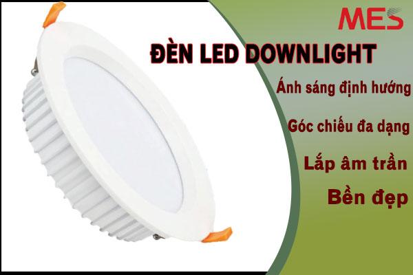 đèn led downlight âm trần MES