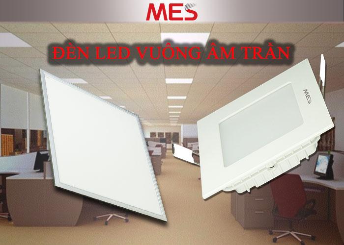 Đèn LED vuông âm trần