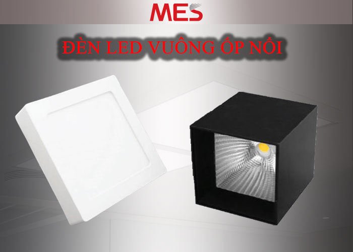Đèn LED vuông ốp nổi